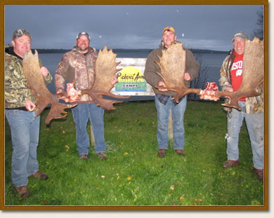 Moose Hunting Packages in Ontario, Canada at Pickerel Arm Camp