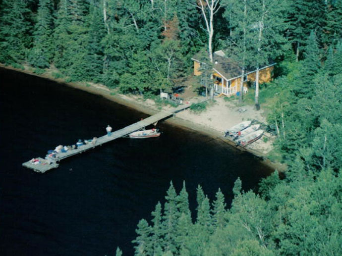South Wapesi Lake Outpost in Northern Ontario, Canada